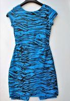 Youth Size 12 - Zebra Stripes on Blue