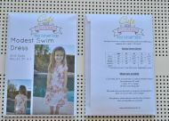Girls' Swimwear Pattern (18m, 2T, 3T, 4, 5)