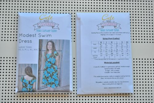 Ladies' Swimwear Pattern  (XS, S, M, L, XL, XXL)