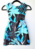 Girls Size 4T - Tropical Leaves